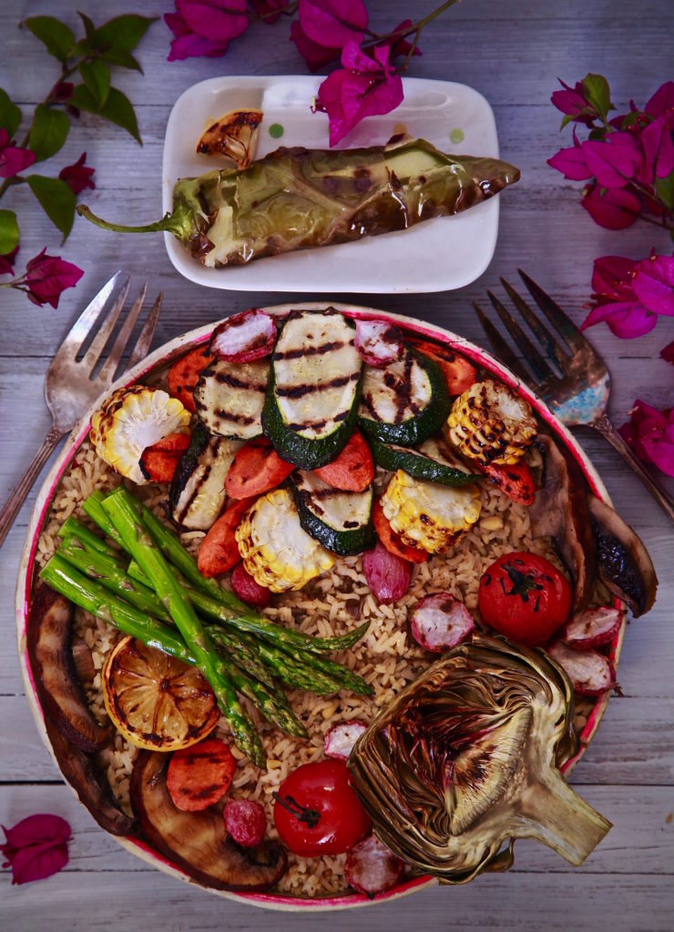 Vegetarian BBQ Bowl for a perfect summer