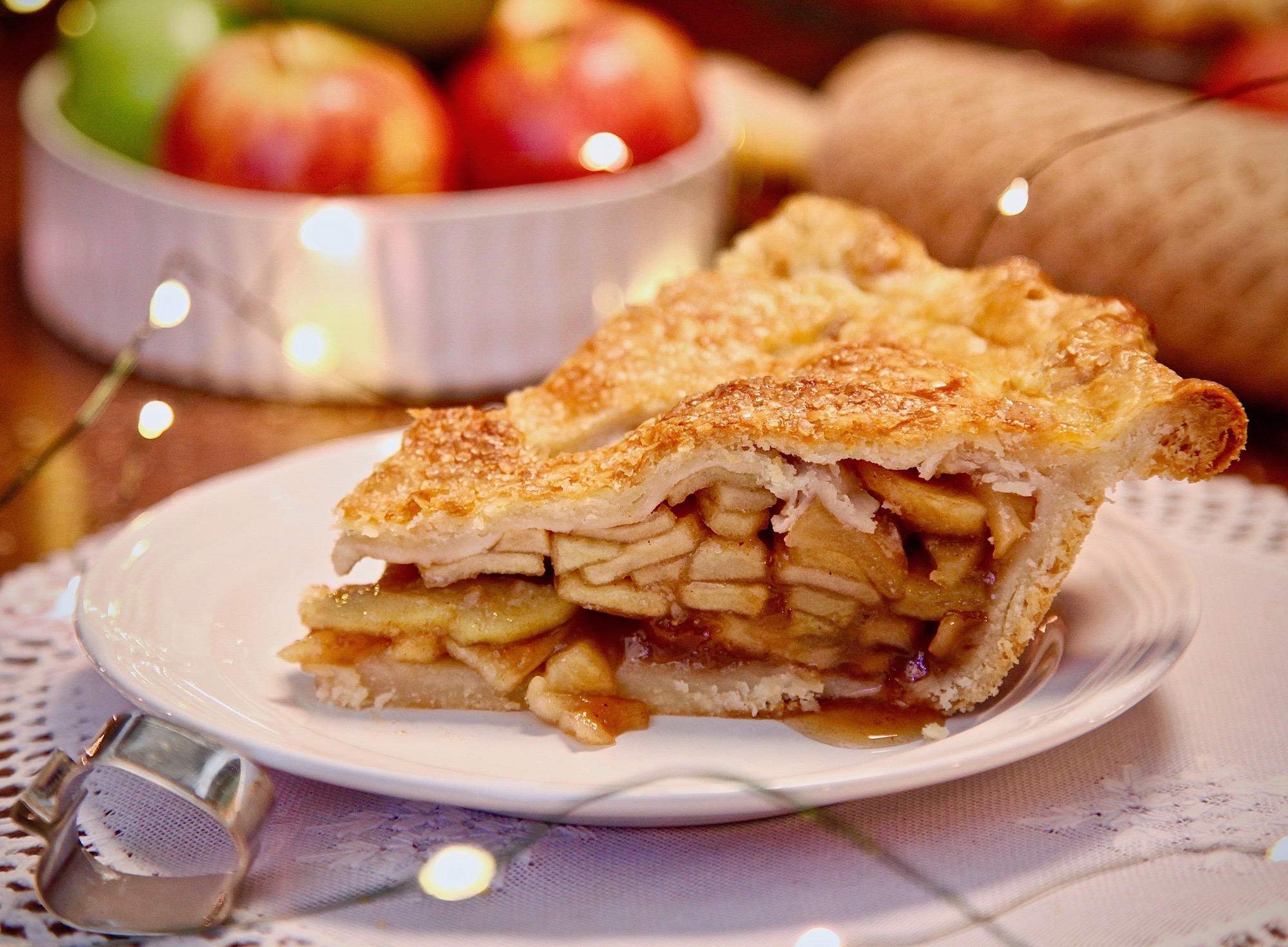 Holiday Double Crusted Apple Pie Perfection!