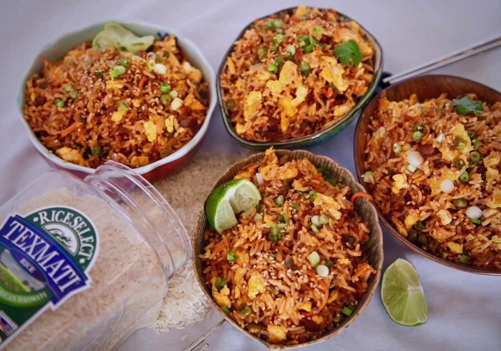 Soy Chorizo Fried Rice is the best when you cook with RiceSelect Texmati!