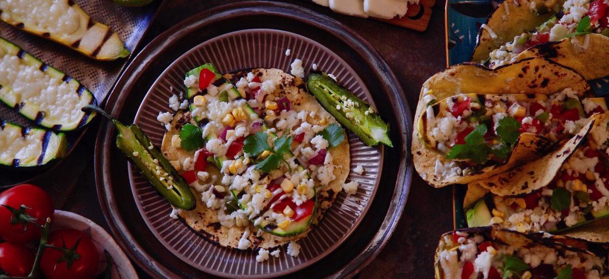 Grilled Calabacita Tacos