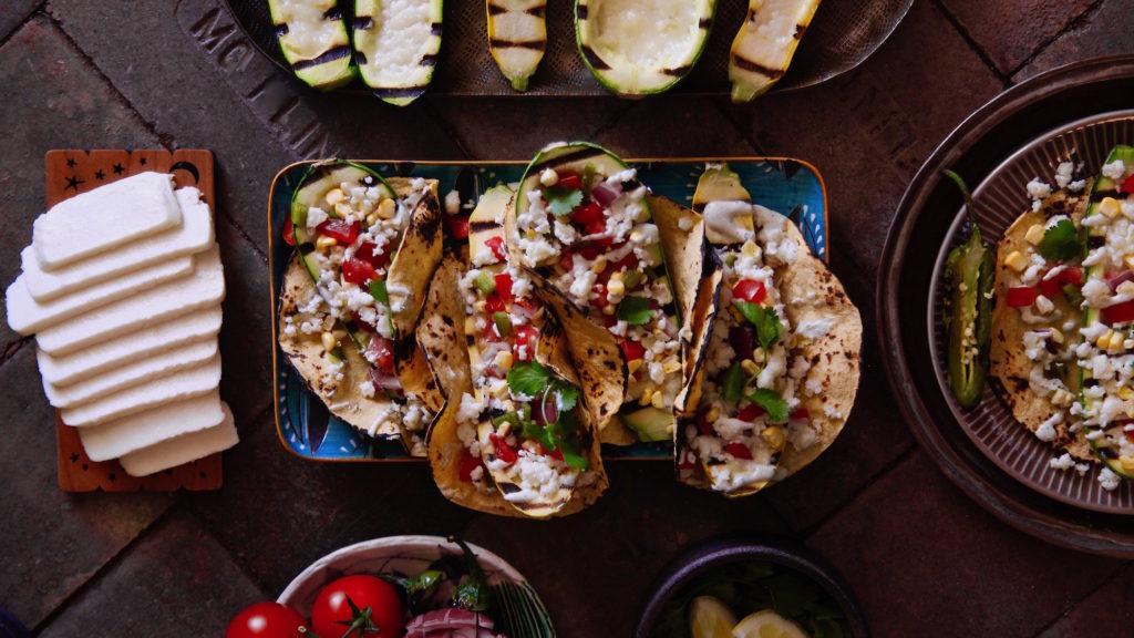 Cacique's Queso Fresco for Grilled Calabacita Tacos