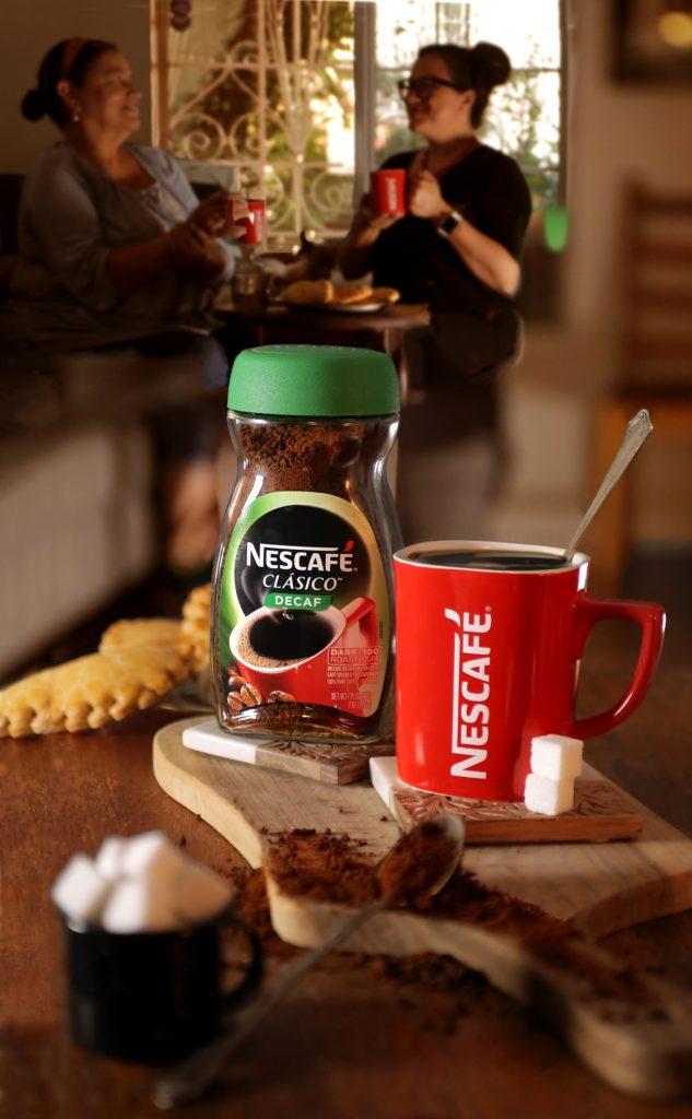 Bonding with Mom over a cup of Nescafé Clásico Decaf