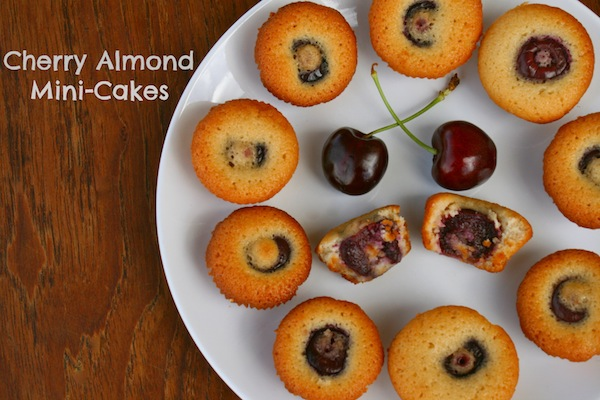 Cherry Almond Mini Cakes