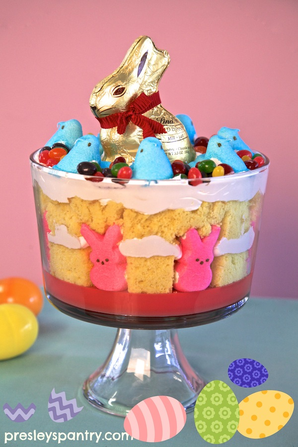 Themed Easter trifle