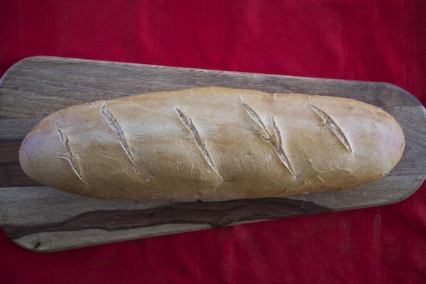 French bread for garlic bread