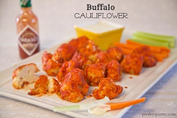 Buffalo Cauliflower Made With Tabasco
