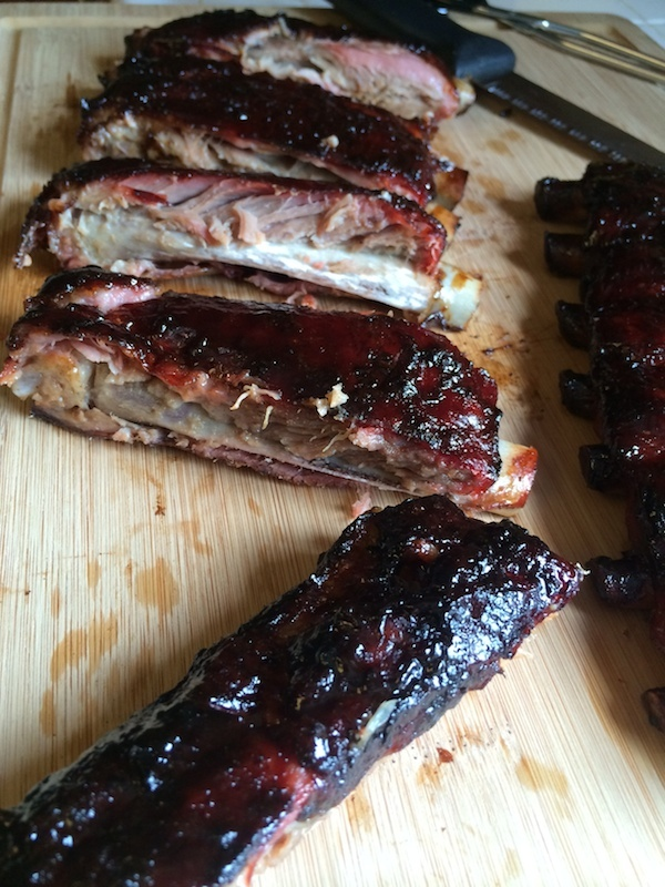 St. Louis Style Pork Ribs Cherry Chipotle