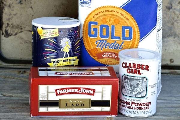 Ingredients for flour tortillas #WMTMoms