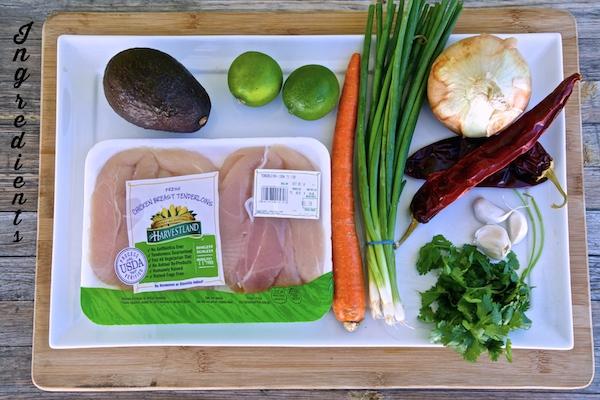 Ingredients for chicken soup #WMTMoms