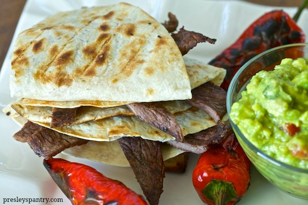 Tailgate At Home With Steak Quesadillas