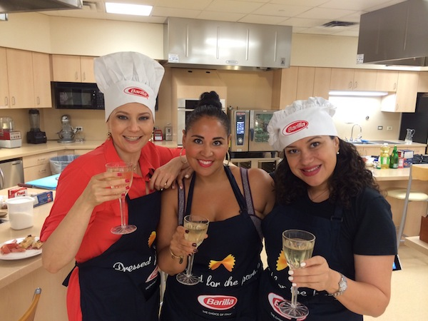 Spokepersons Of Barilla Laura, Alejandra, and Nicole