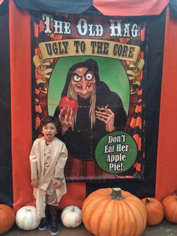 Max at Disneyland Halloween time 2014