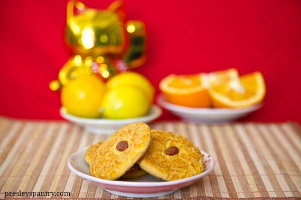 Ring in the year of the sheep with these Chinese New Year almond cookies.