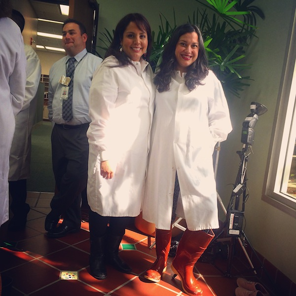 Nicole Presley and Ericka Sanchez of Society Culinaria at the Cacique Immersion Event.