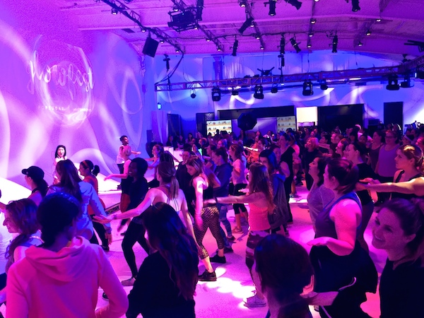 dance at glowfest
