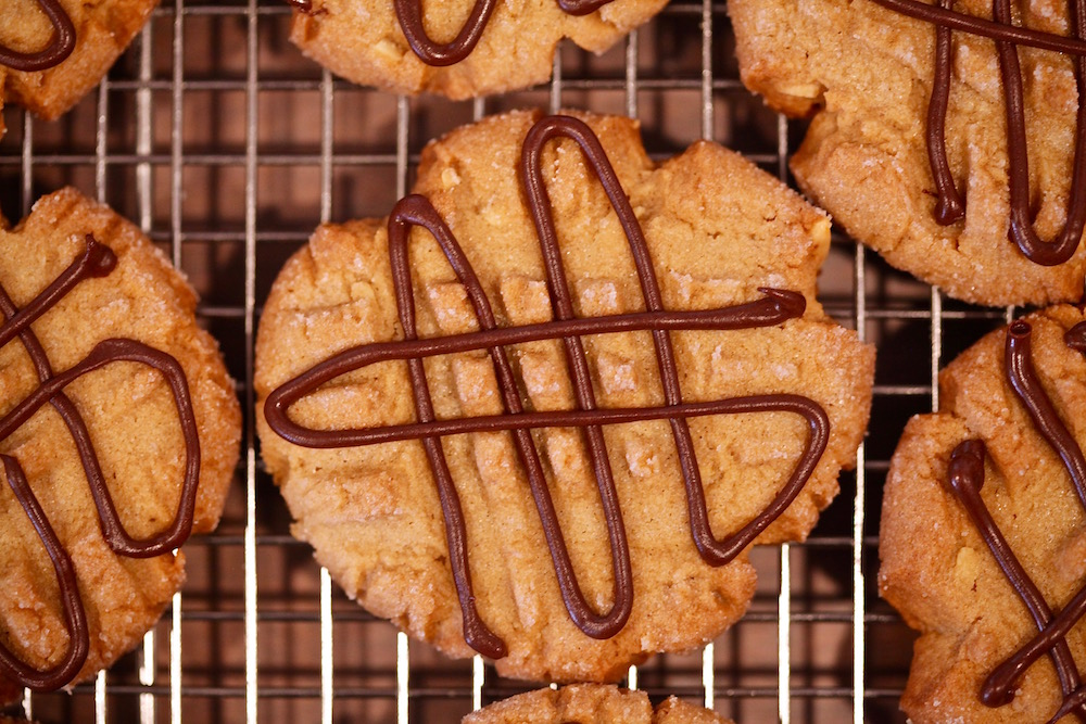 Peanut butter shortbread chocolate cookies are a real treat for any cookie lover.