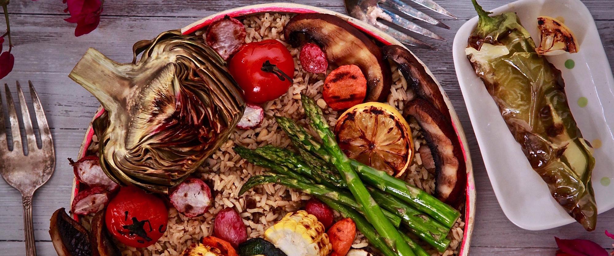 Vegetarian BBQ Bowl