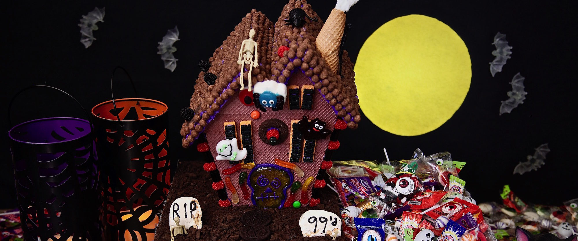 Epic Haunted House Halloween Candy Box On A Budget