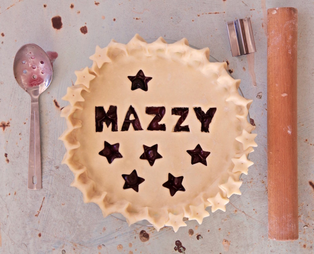The best dark sweet cherry pie on the planet