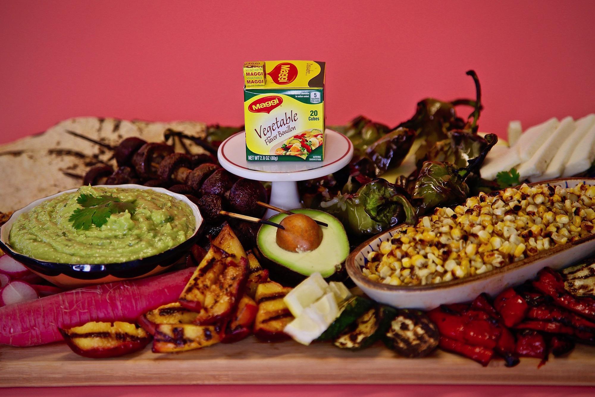 Vegetarian Taco Board