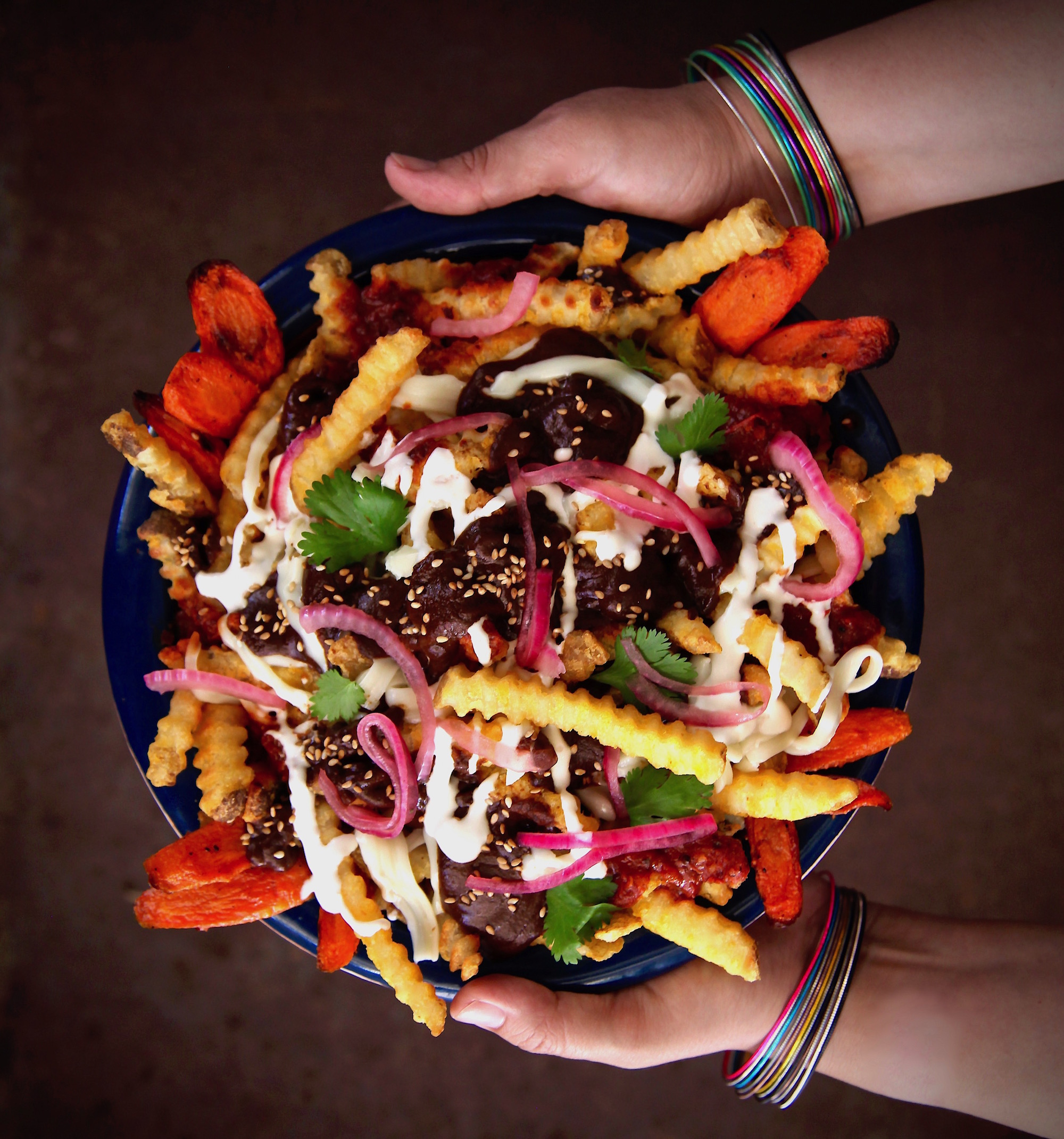 The Perfect Mole Fries