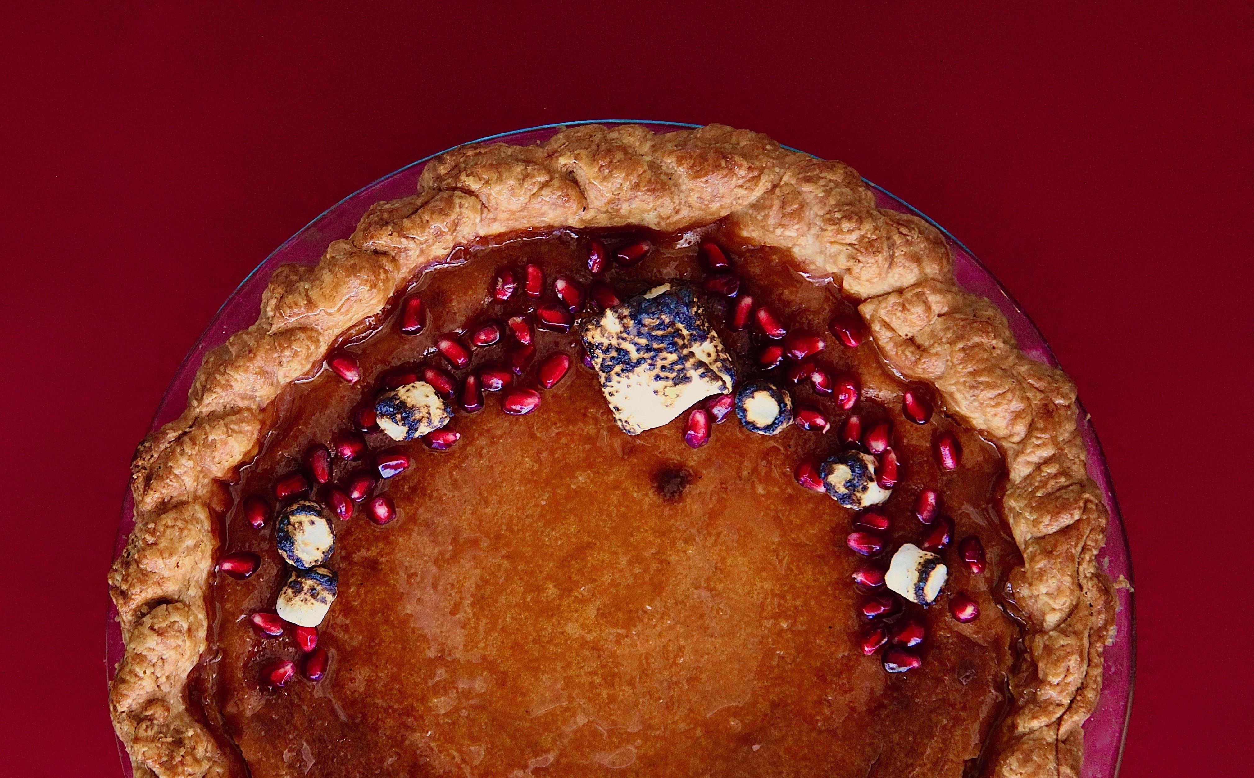 Pumpkin Flan Pie Deliciousness