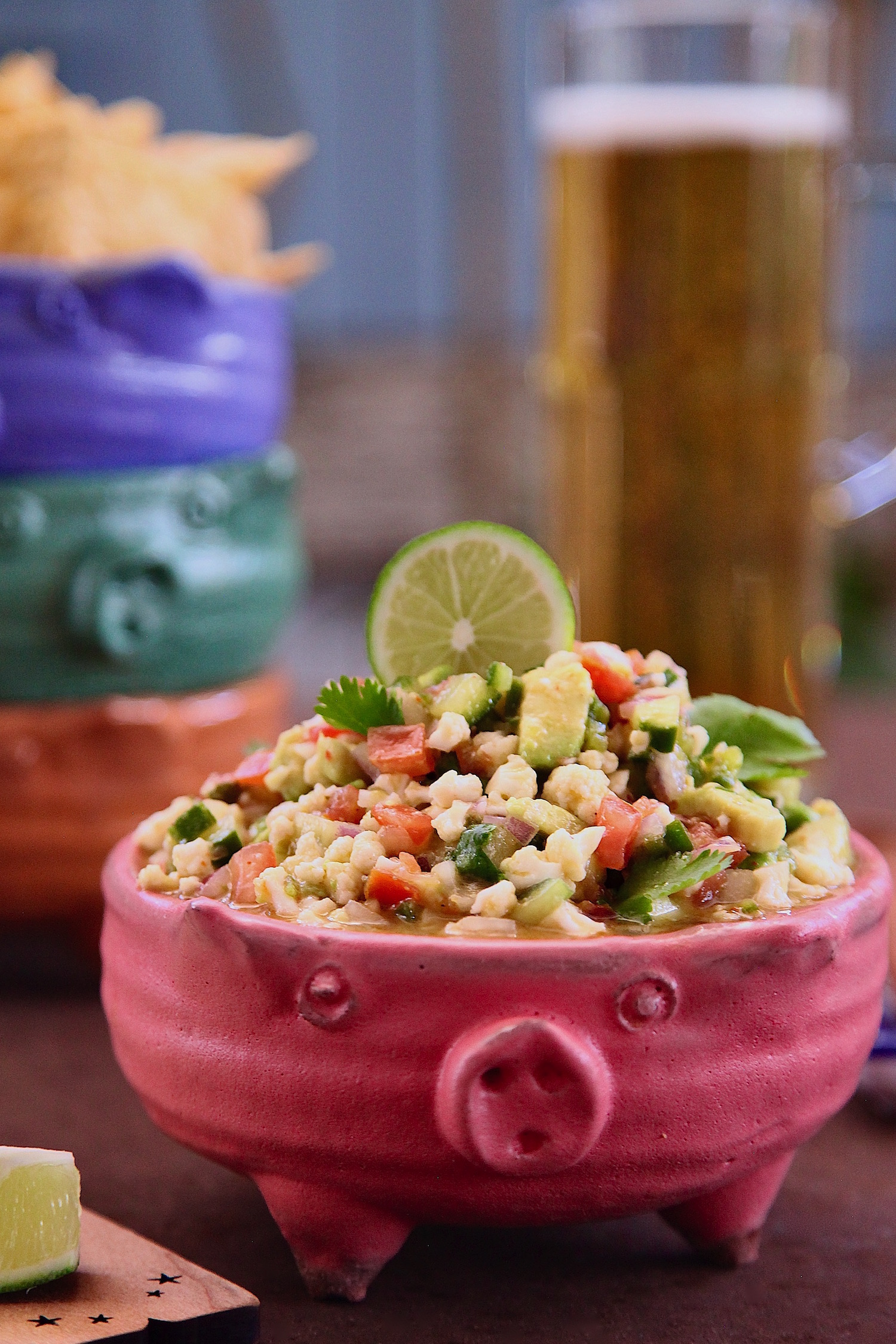 Plant Based Cauliflower Ceviche