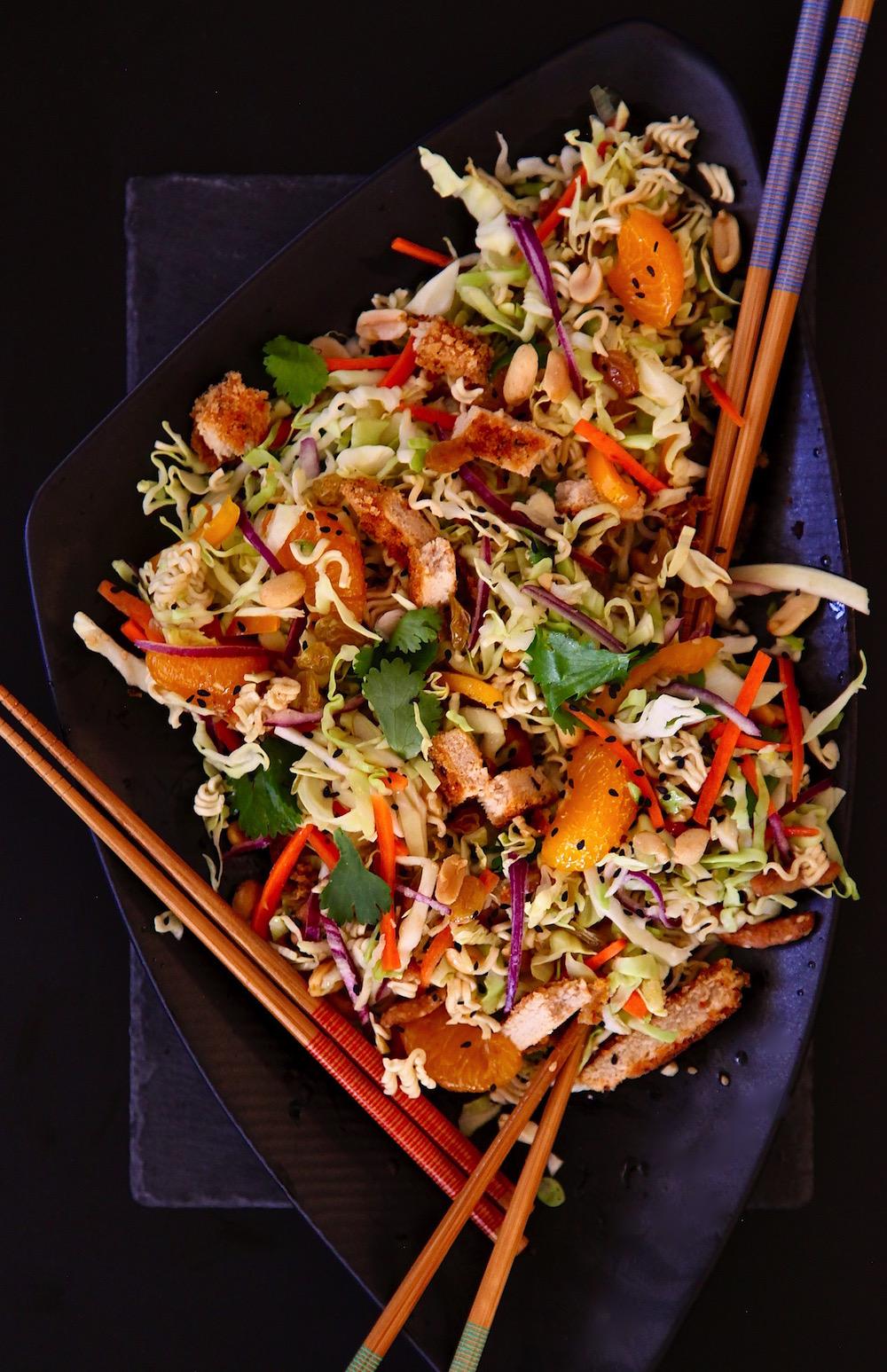 Meatless Sesame Cabbage Salad