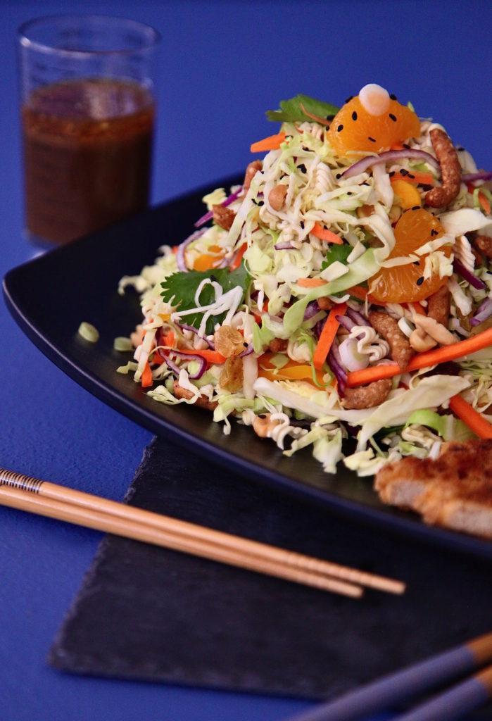 Meatless-Sesame-Cabbage-Salad-Dressing