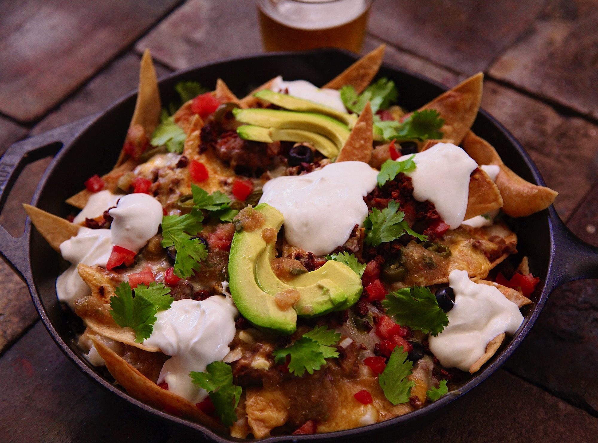 Loaded Los Angeles Nachos