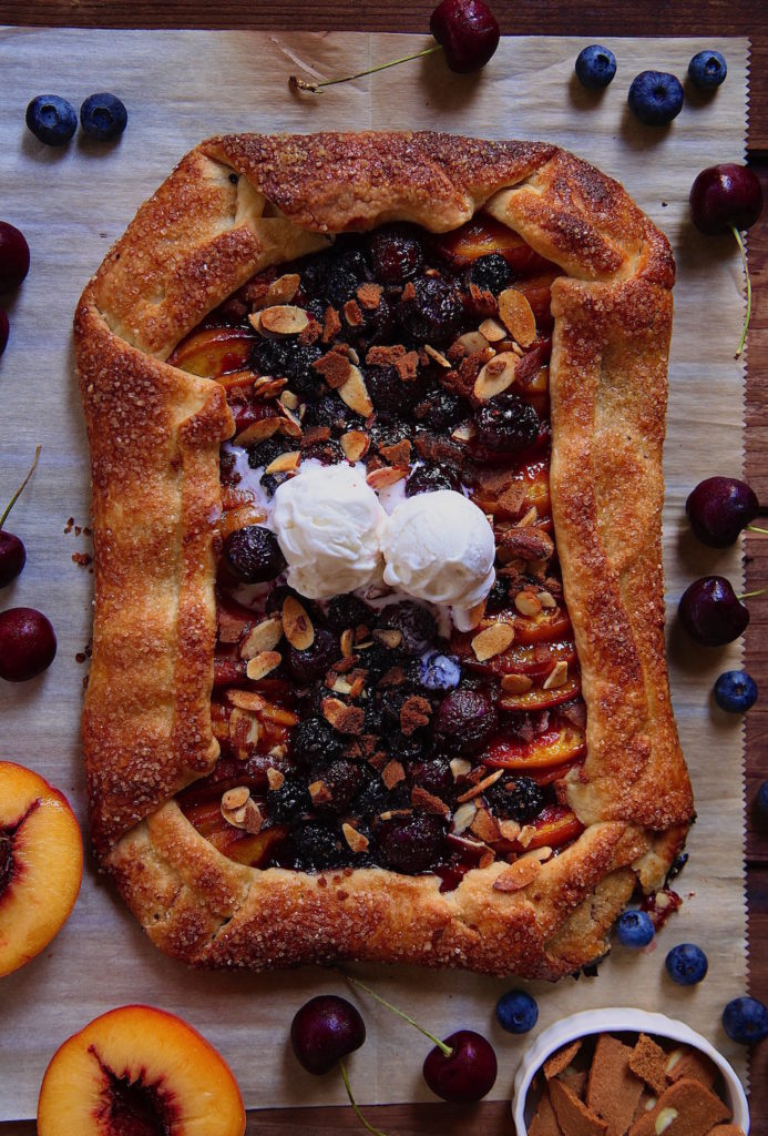 Summer-Fruit-Galette