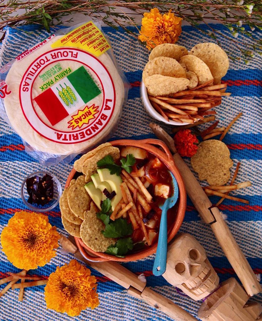Tortilla-Aztec-Soup-La-Banderita