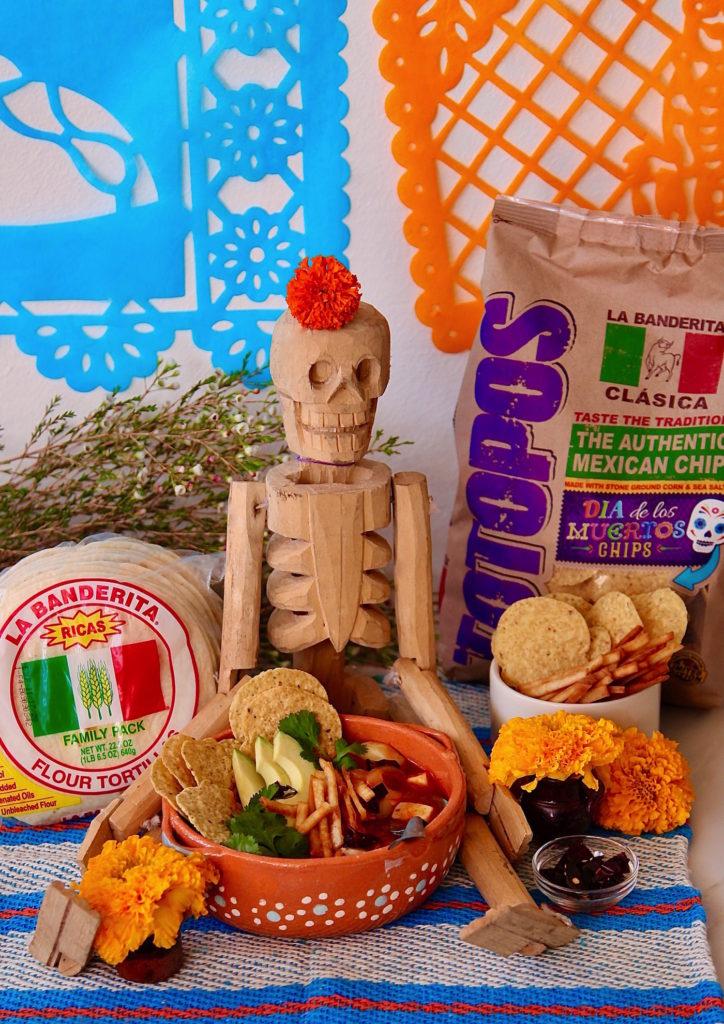 La-Banderita-Sopa-Azteca-De-Tortilla