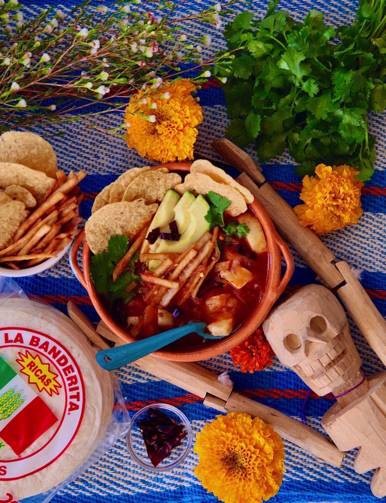 Sopa-Azteca-De-Tortilla