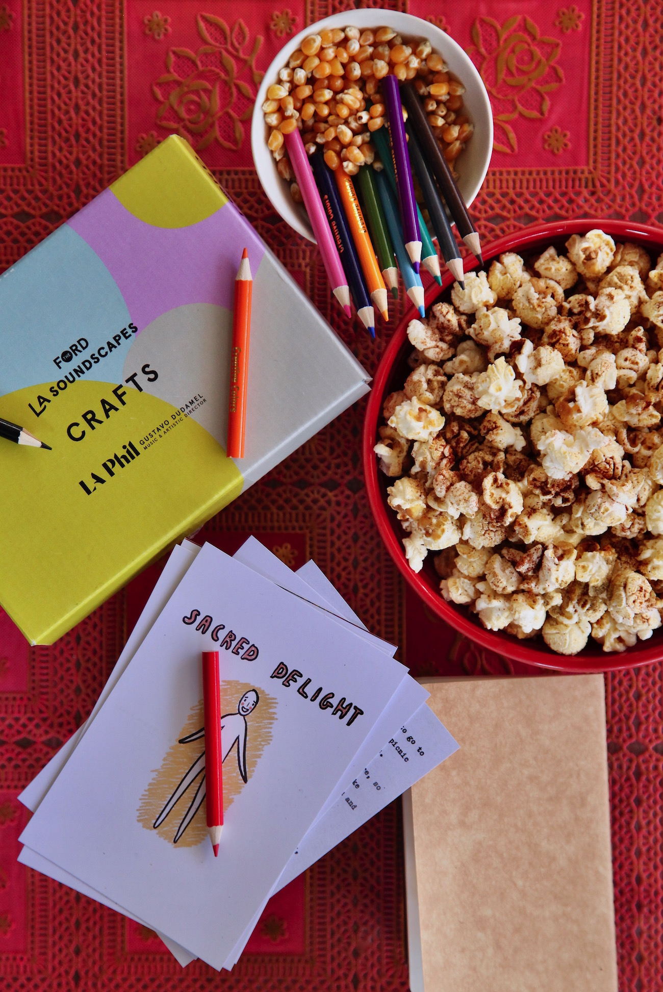 LA Soundscapes And Bollywood Popcorn