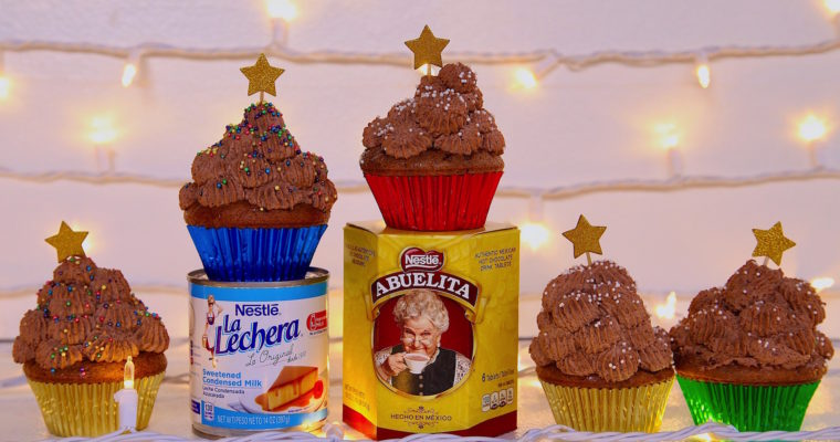 Mexican Chocolate Tres Leches Cupcakes