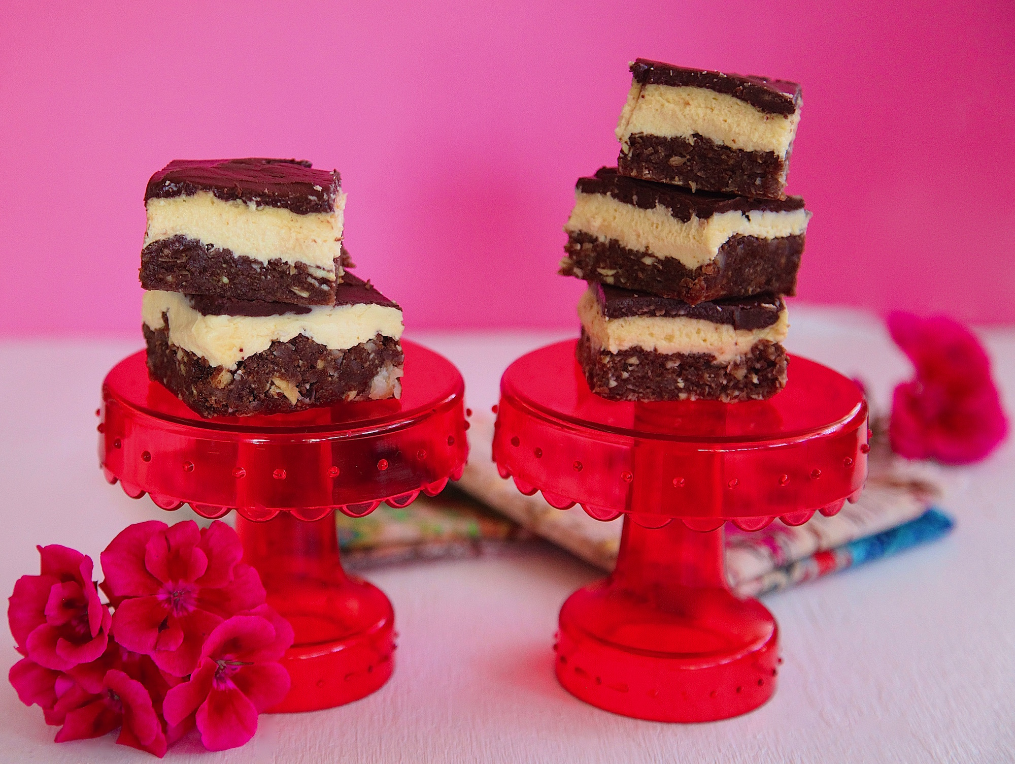 Almond Coconut Nanaimo Bars
