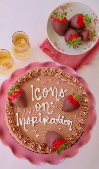 Icons On Inspiration Chocolate Cake