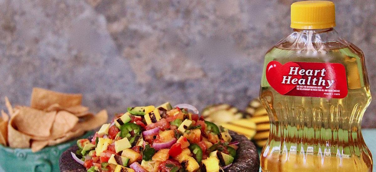 Grilled Avocado and Mango Salsa