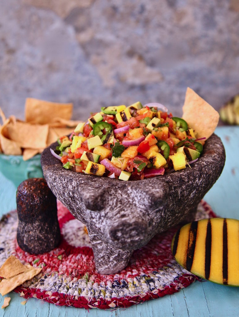 Grilled-Avocado-Mango-Salsa