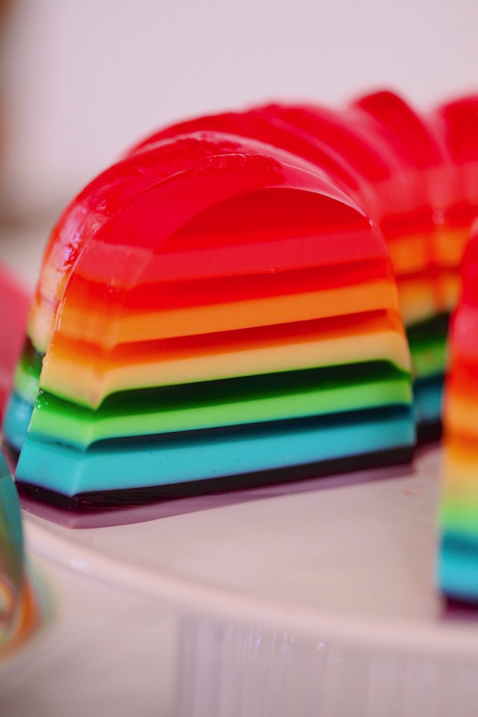 Rainbow-Gelatina