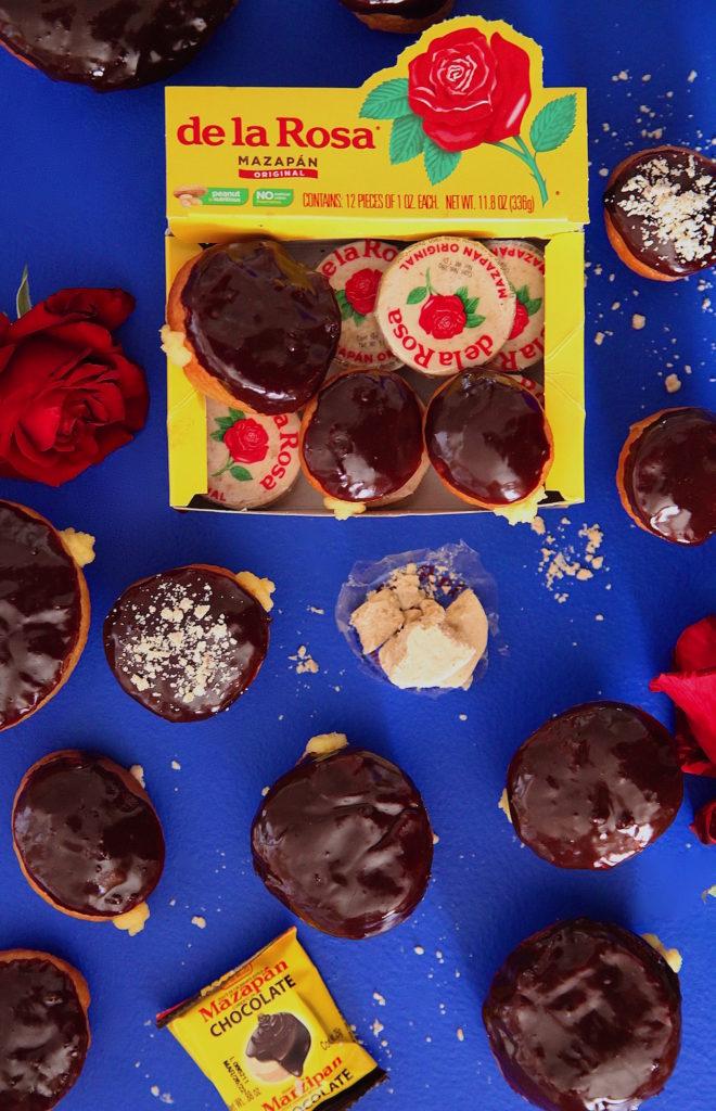 Mazapan-custard-donuts